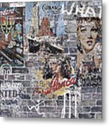 Graffiti Walls Metal Print