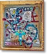 Graffitis Metal Print