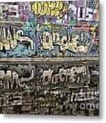 Graffity Reflection Metal Print