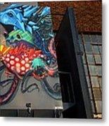 Grafitti And The Panes Metal Print
