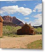 Grafton Utah Butch Cassidy Movie Set Panorama Metal Print