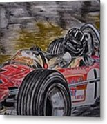 Graham Hill Mr Monaco Metal Print