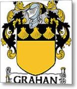 Grahan Coat Of Arms Irish Metal Print