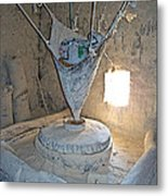 Grain Mill On The Way To Shigatse-tibet Metal Print