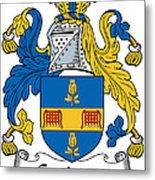 Grainger Coat Of Arms Irish Metal Print