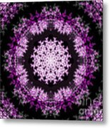 Grammy's Psychedelic Doily Metal Print