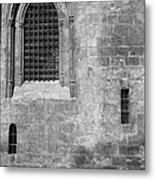 Granada Cathedral Monochrome Metal Print
