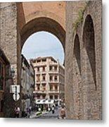 Granada Old City Gateway Metal Print