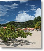 Grand Anse Beach - Grenada Metal Print