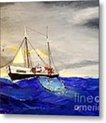 Superior On The Grands Banks Of Newfoundland Metal Print
