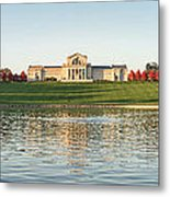 Grand Basin In Autumn Metal Print