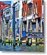 Grand Canal - Venice Metal Print
