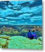Grand Canyon # 7 - Hopi Point Metal Print