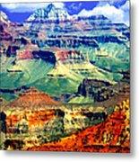 Grand Canyon After Monsoon Rains Metal Print