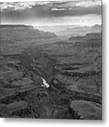 Grand Canyon And Colorado River Metal Print