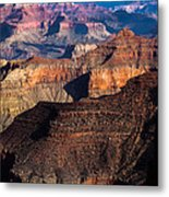 Grand Canyon Colors Metal Print