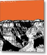 Grand Canyon - Coral Metal Print