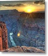 Grand Canyon First Light Metal Print