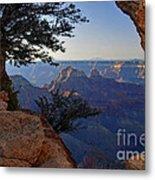 Grand Canyon National Park At Angels Point  Metal Print