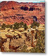 Grand Canyon National Park South Rim Metal Print