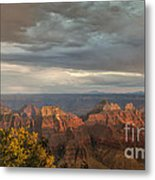 Grand Canyon North Rim Sunset Metal Print