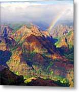 Grand Canyon Of The Pacific Metal Print