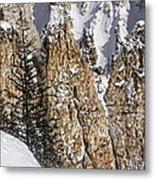 Grand Canyon Of Yellowstone Metal Print