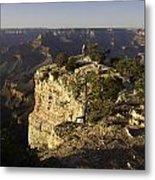 Grand Canyon Outlook Metal Print