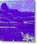 Grand Canyon Purples Metal Print