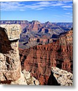 Grand Canyon - South Rim View Metal Print