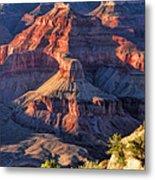 Grand Canyon Sunset Ridge Metal Print
