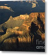 Grand Canyon Symphony Of Light And Shadow Metal Print