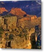 Grand Canyon - The Wonders Of Light And Shadow - 1a Metal Print
