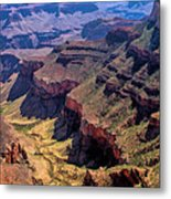 Grand Canyon Valley Trail Metal Print