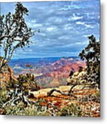Grand Canyon View IIi Metal Print