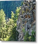 Grand Canyon Walls Lan 183 Metal Print