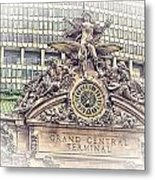 Grand Central Decor Metal Print