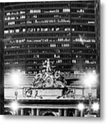 Grand Central Pan Am Building Metal Print
