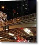 Grand Central Station At Pershing Square Metal Print