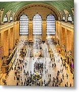 Grand Central Terminal Birds Eye View I Metal Print by Susan Candelario