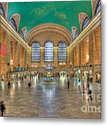 Grand Central Terminal IIi Metal Print