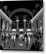Grand Central Terminal Poster Metal Print