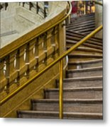 Grand Central Terminal Staircase Metal Print