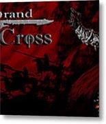 Grand Cross Poster Art Metal Print