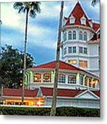 Grand Floridian Resort Walt Disney World Metal Print