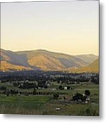 Grand Forks View From The West Metal Print