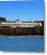 Grand Hotel Mackinac Island Metal Print
