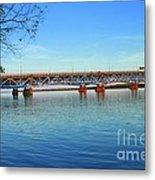 Grand Island Bridge 2 Metal Print