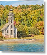 Grand Island East Channel Lighthouse Metal Print