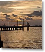 Grand Isle Sunset # 1 Metal Print